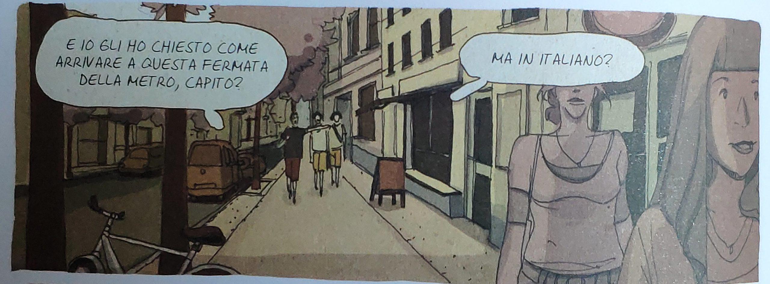 Mio caro fumetto… – Nuvola bianca per la lingua italiana