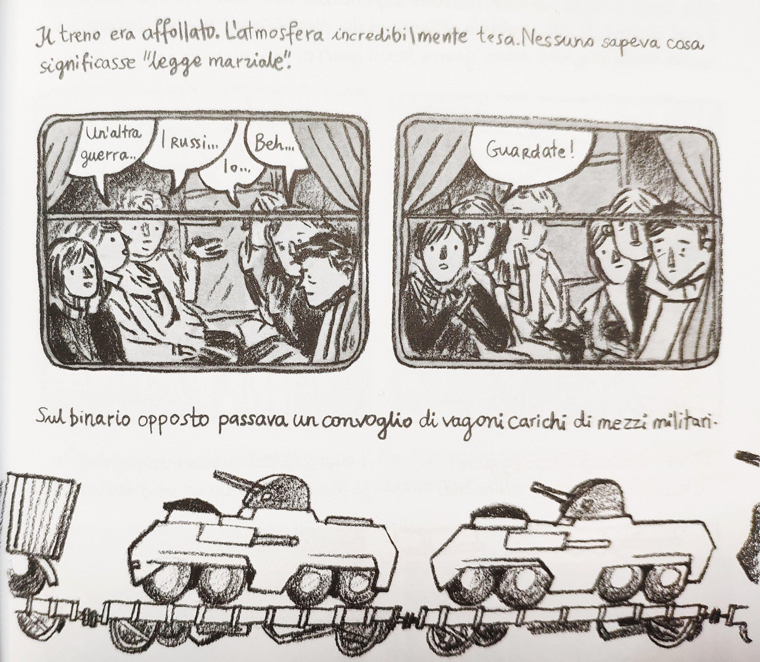Mio caro fumetto… – La legge marziale in Polonia