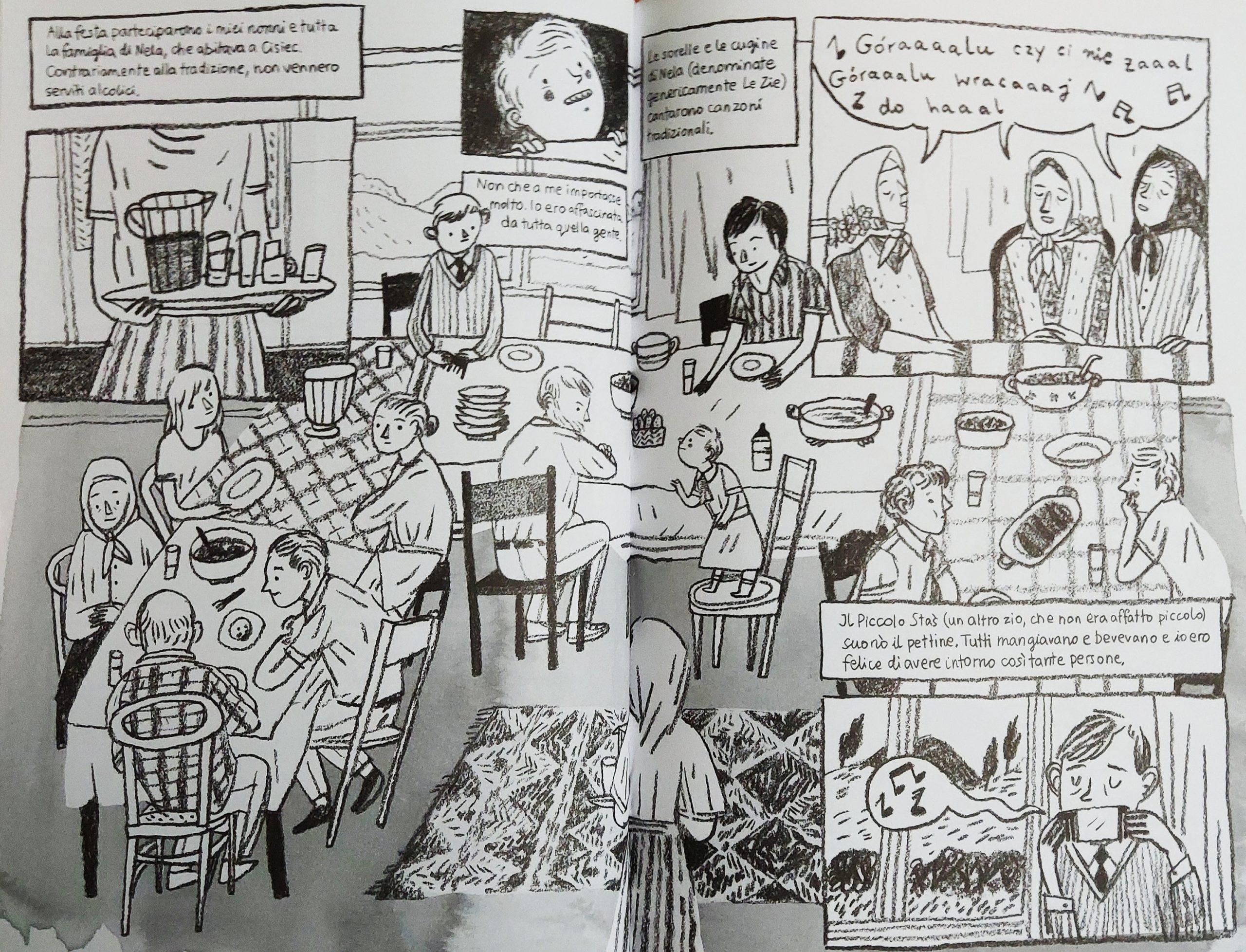 Mio caro fumetto… – La festa del battesimo di Zosia a Cisiec