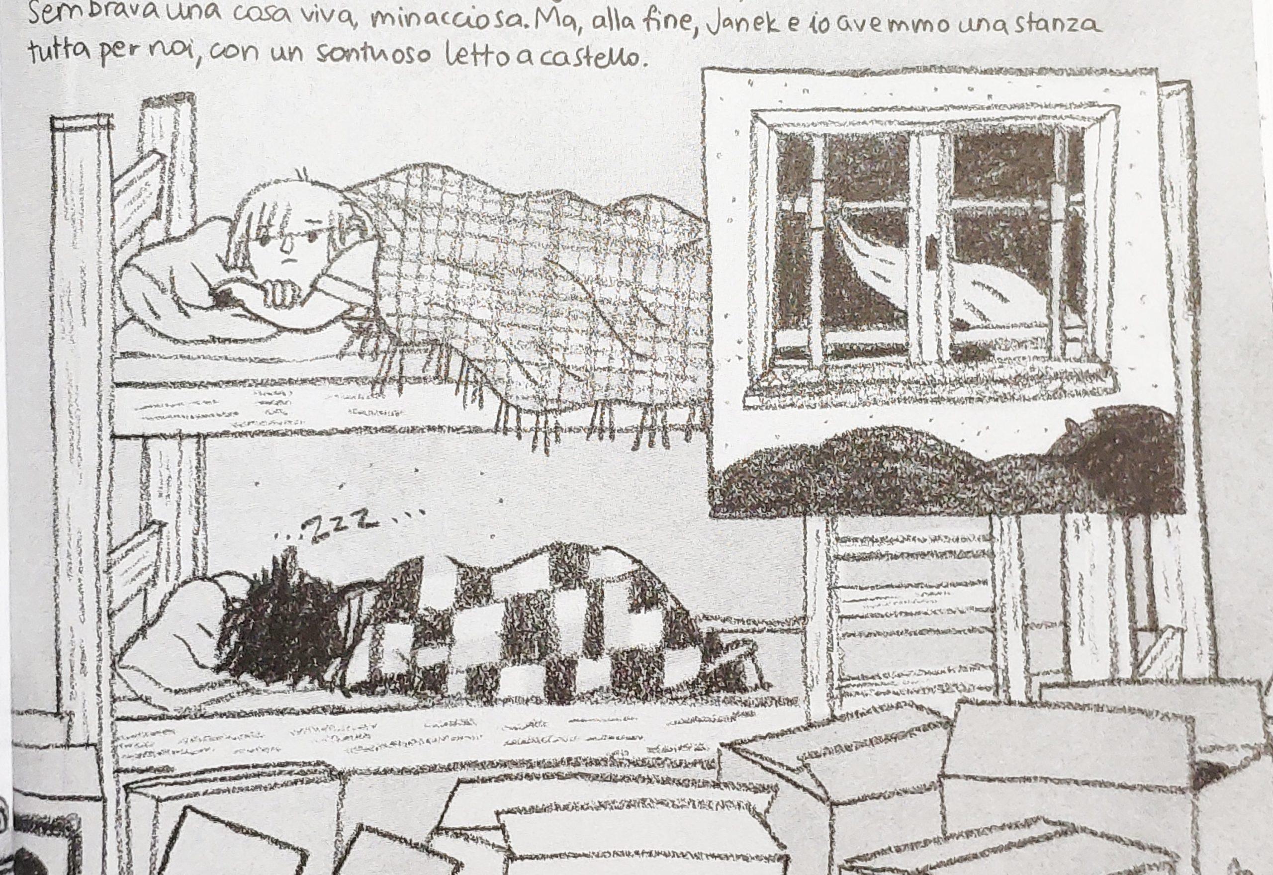 Mio caro fumetto… – Il letto a castello nella casa nuova a Varsavia