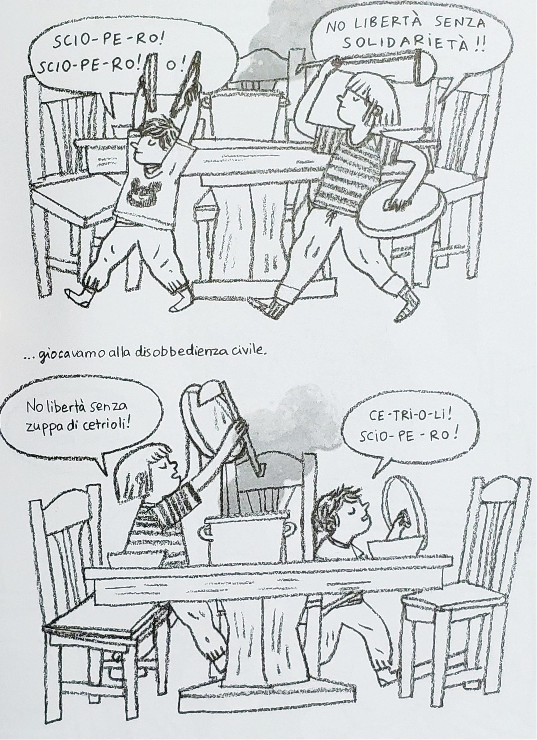 Mio caro fumetto… – Giocando a casa alla disobbedienza civile