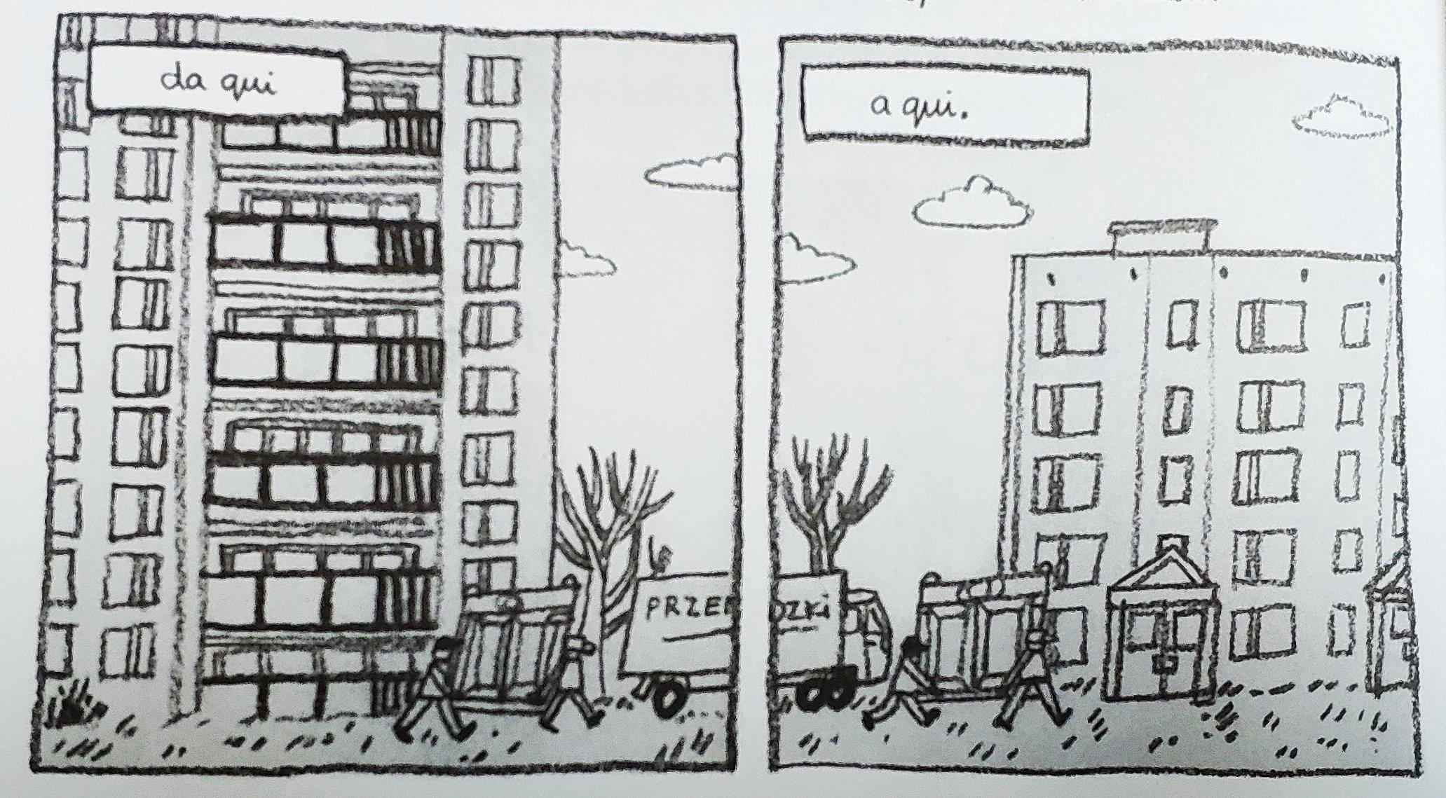 Mio caro fumetto… – Il trasloco