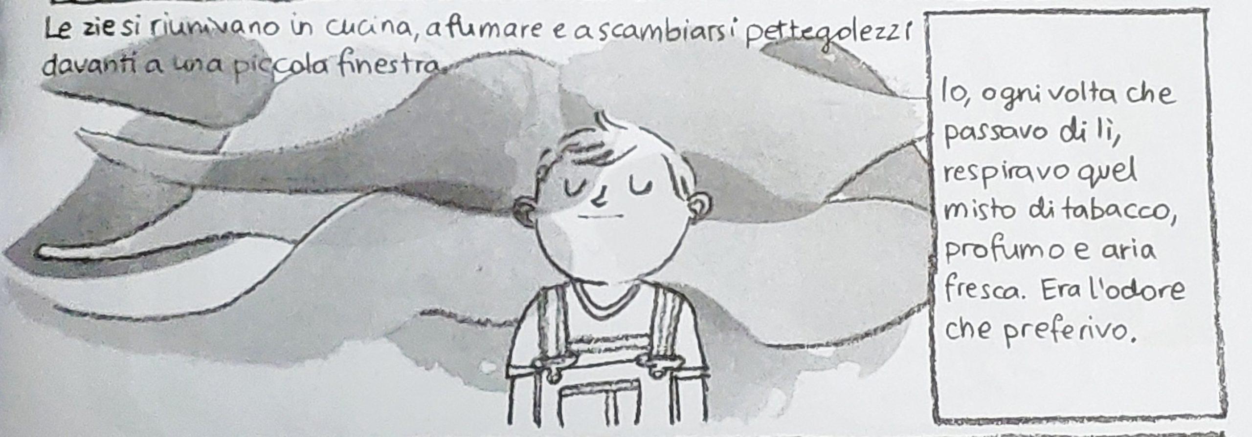 Mio caro fumetto… – Odore nella casa dei nonni a Pszczelin