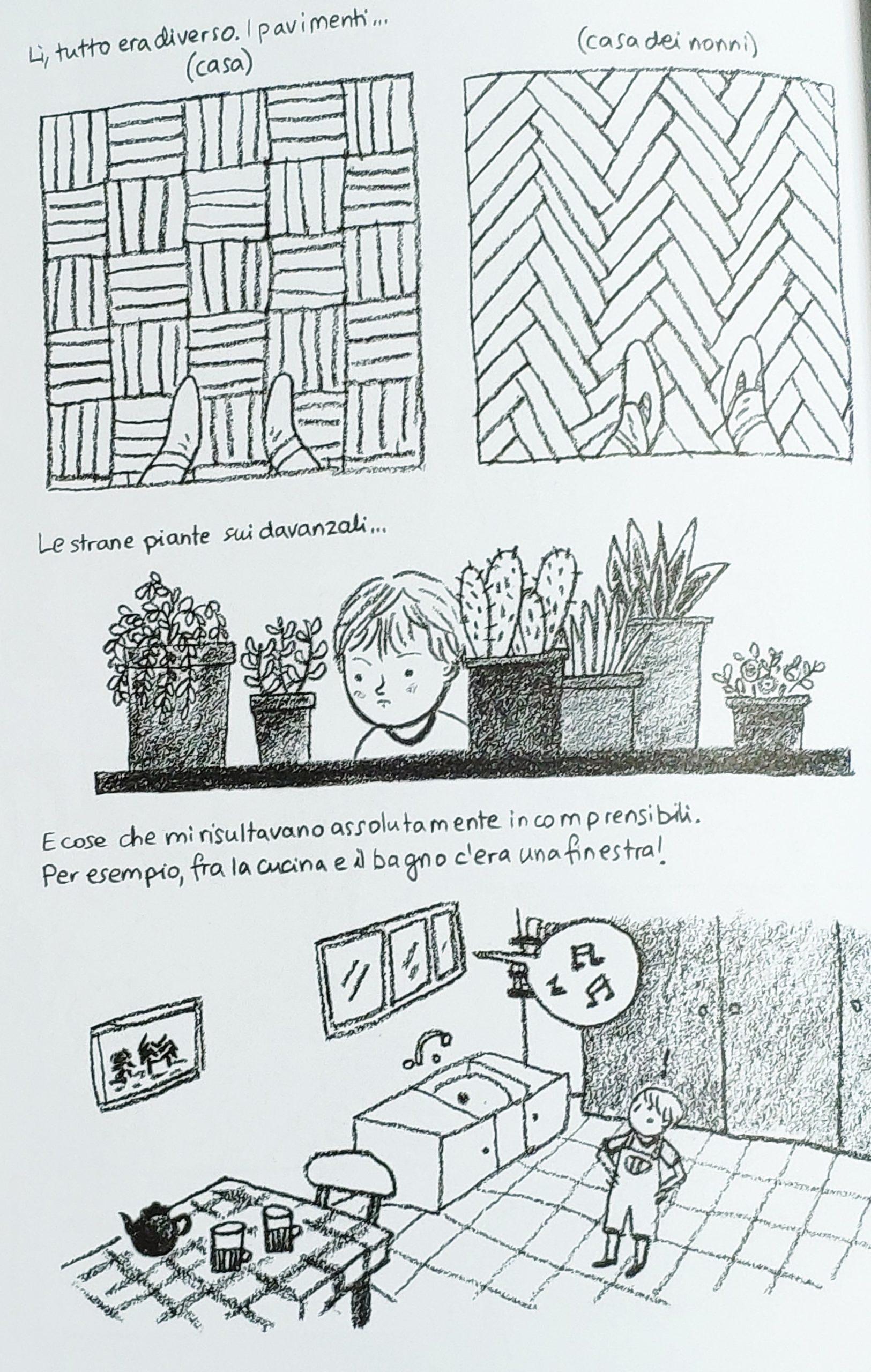 Mio caro fumetto… – Particolarità della casa dei nonni a Pszczelin