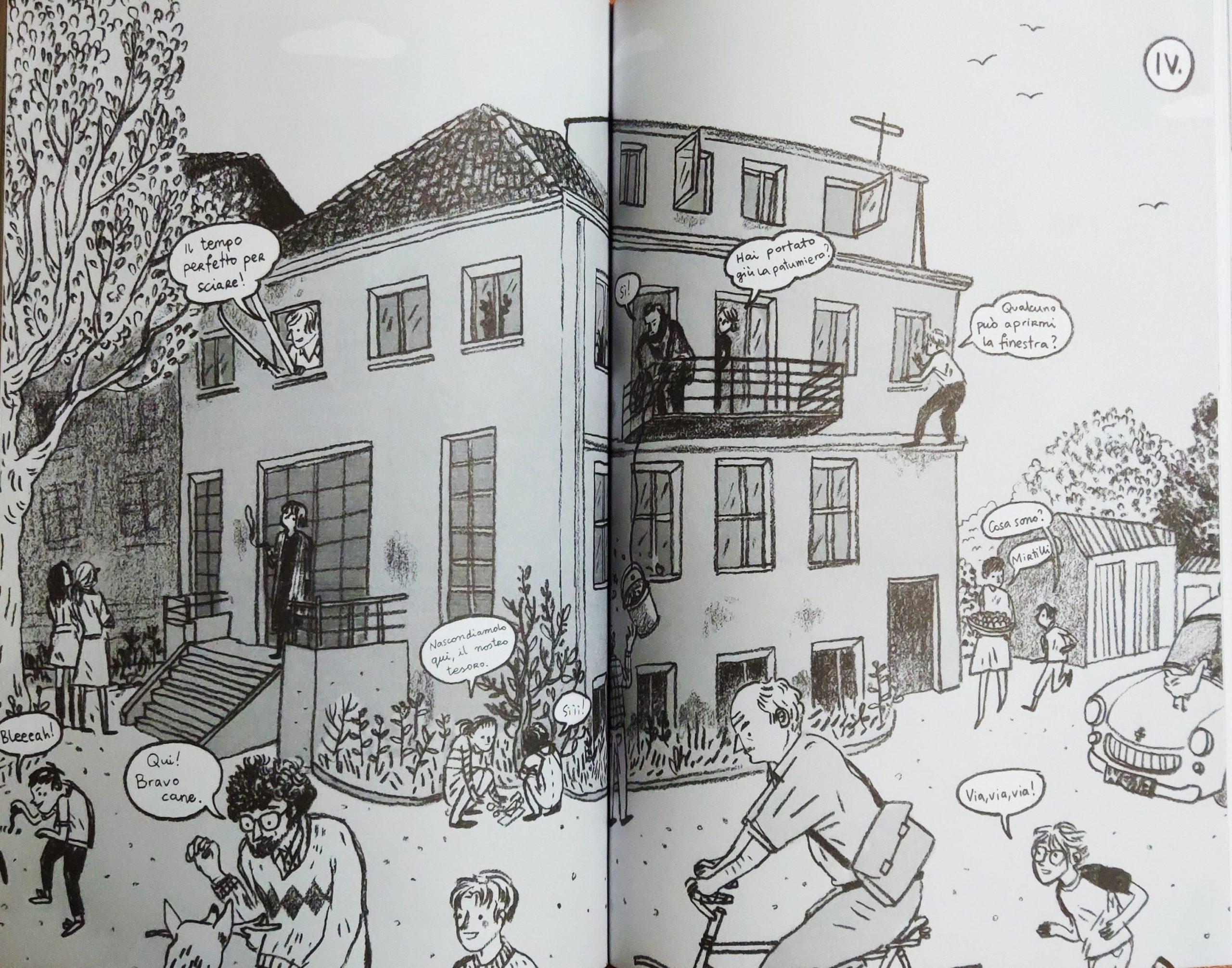Mio caro fumetto… – La casa dei nonni paterni a Pszczelin
