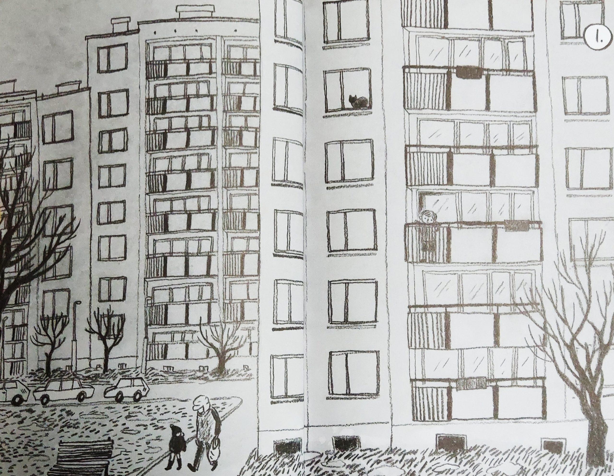 Mio caro fumetto… – La casa nel quartiere di casermoni a Varsavia