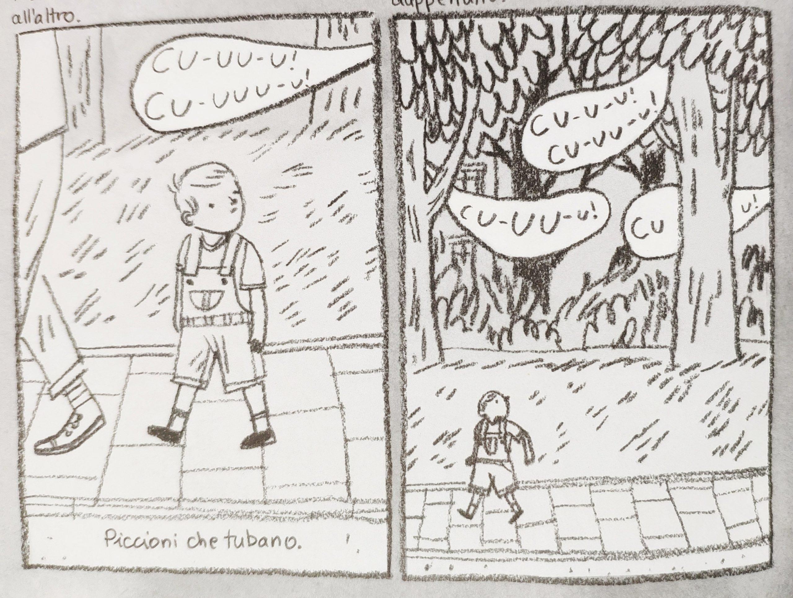 Mio caro fumetto… – Il tubare dei piccioni a Pszczelin