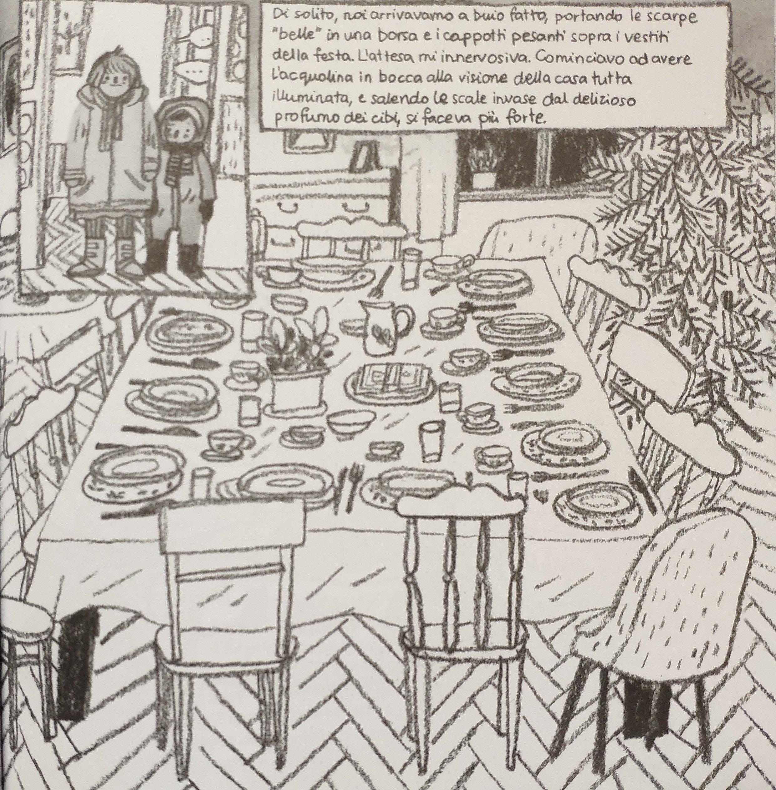 Mio caro fumetto… – La tavola del 23 dicembre a Pszczelin