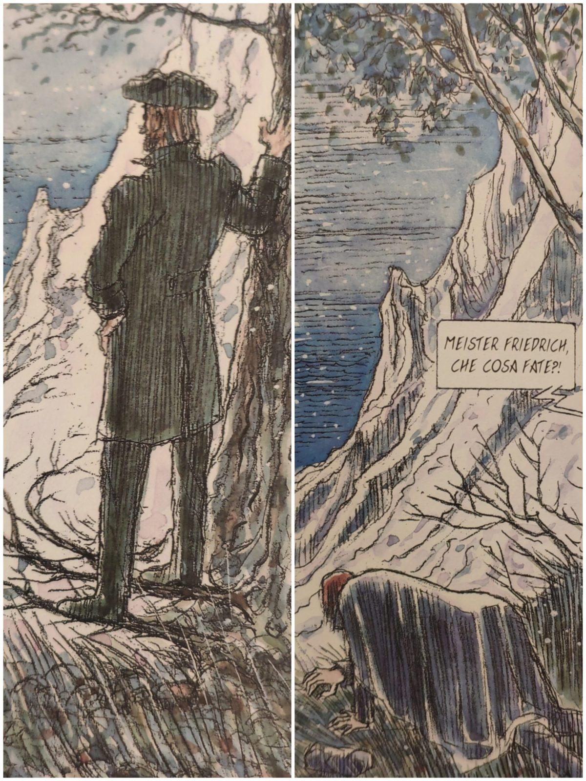 Mio caro fumetto… – Alcune vignette da Le bianche scogliere di Rügen