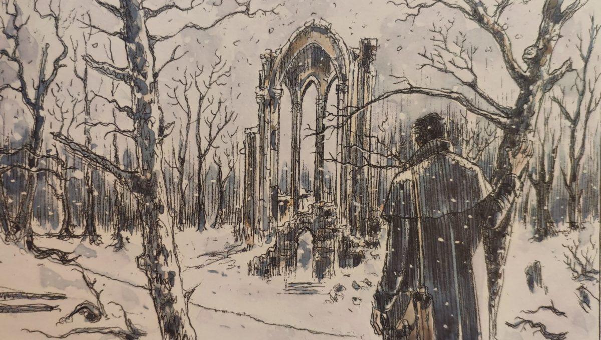 Mio caro fumetto… – Il cimitero dell'abbazia sotto la neve