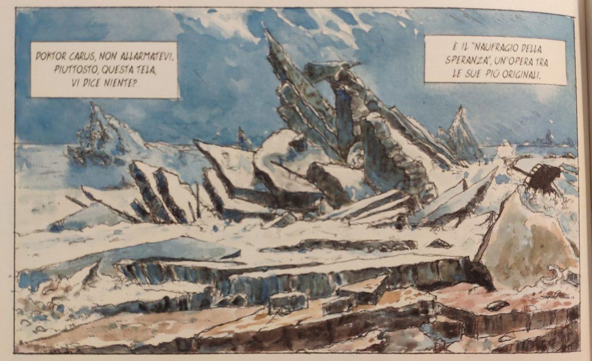 Mio caro fumetto… – Il mare di ghiaccio o Il naufragio della speranza