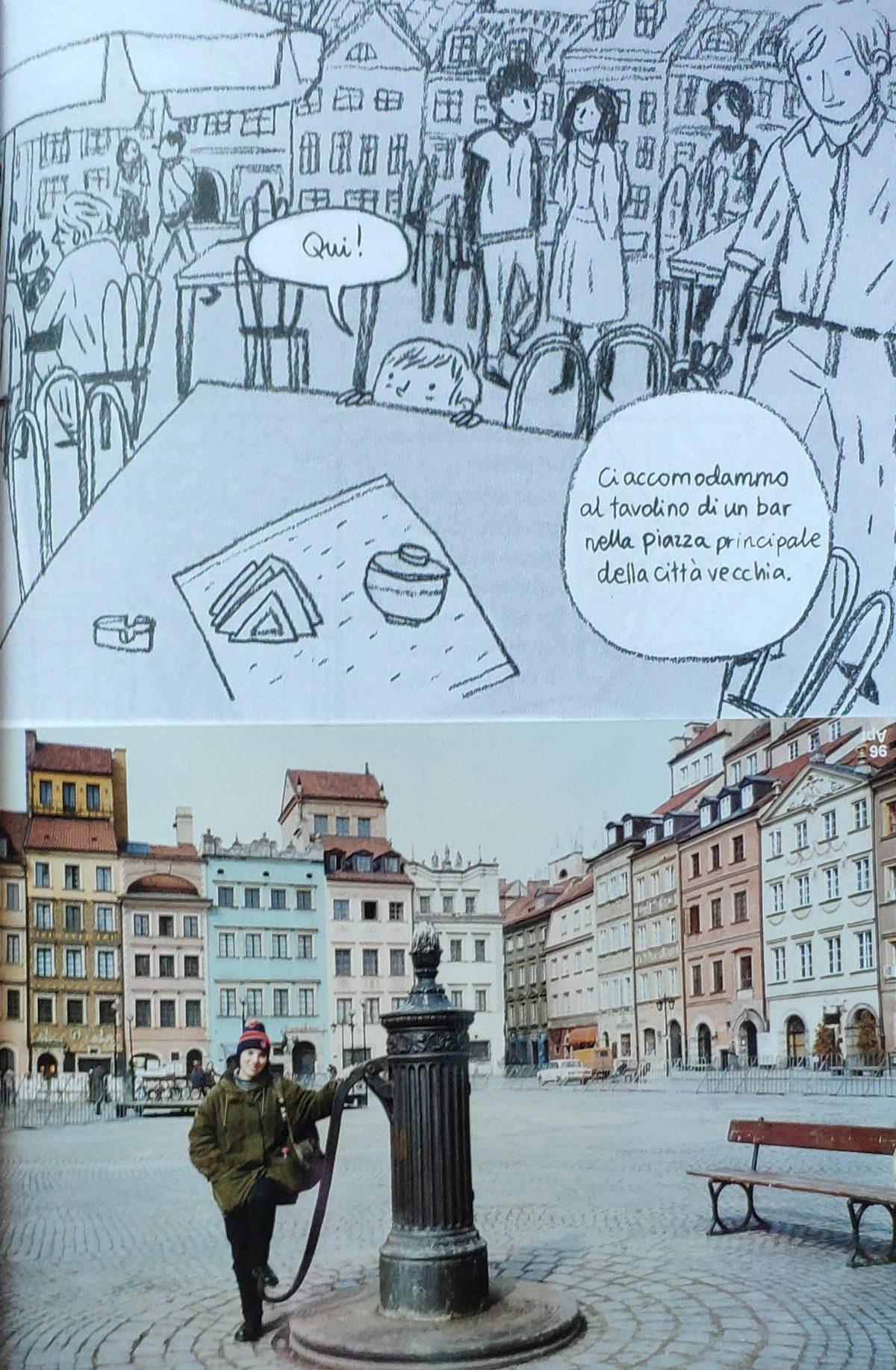 Mio caro fumetto… – La piazza principale del centro storico di Varsavia
