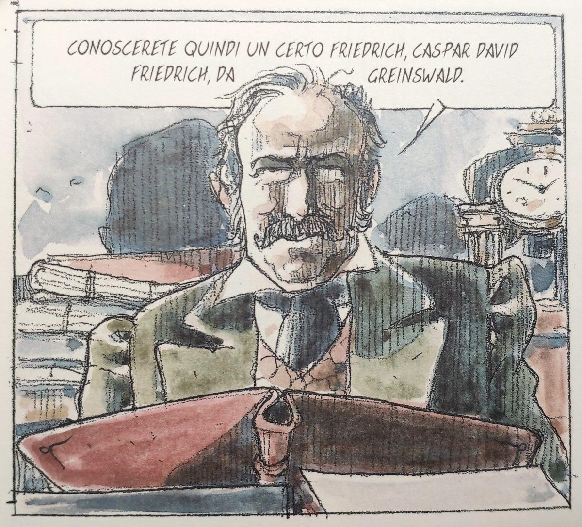 Mio caro fumetto… – L'ispettore della Polizia segreta del Regno di Sassonia