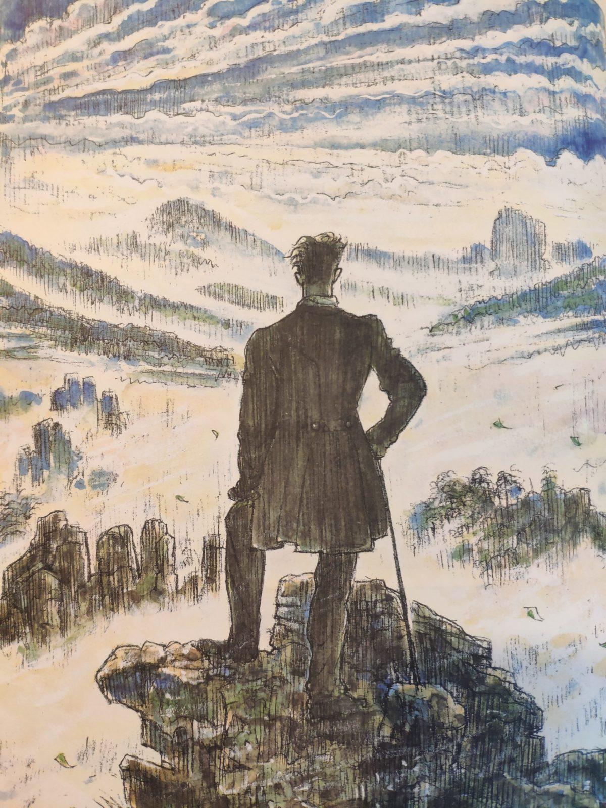Mio caro fumetto… – Viandante sul mare di nebbia