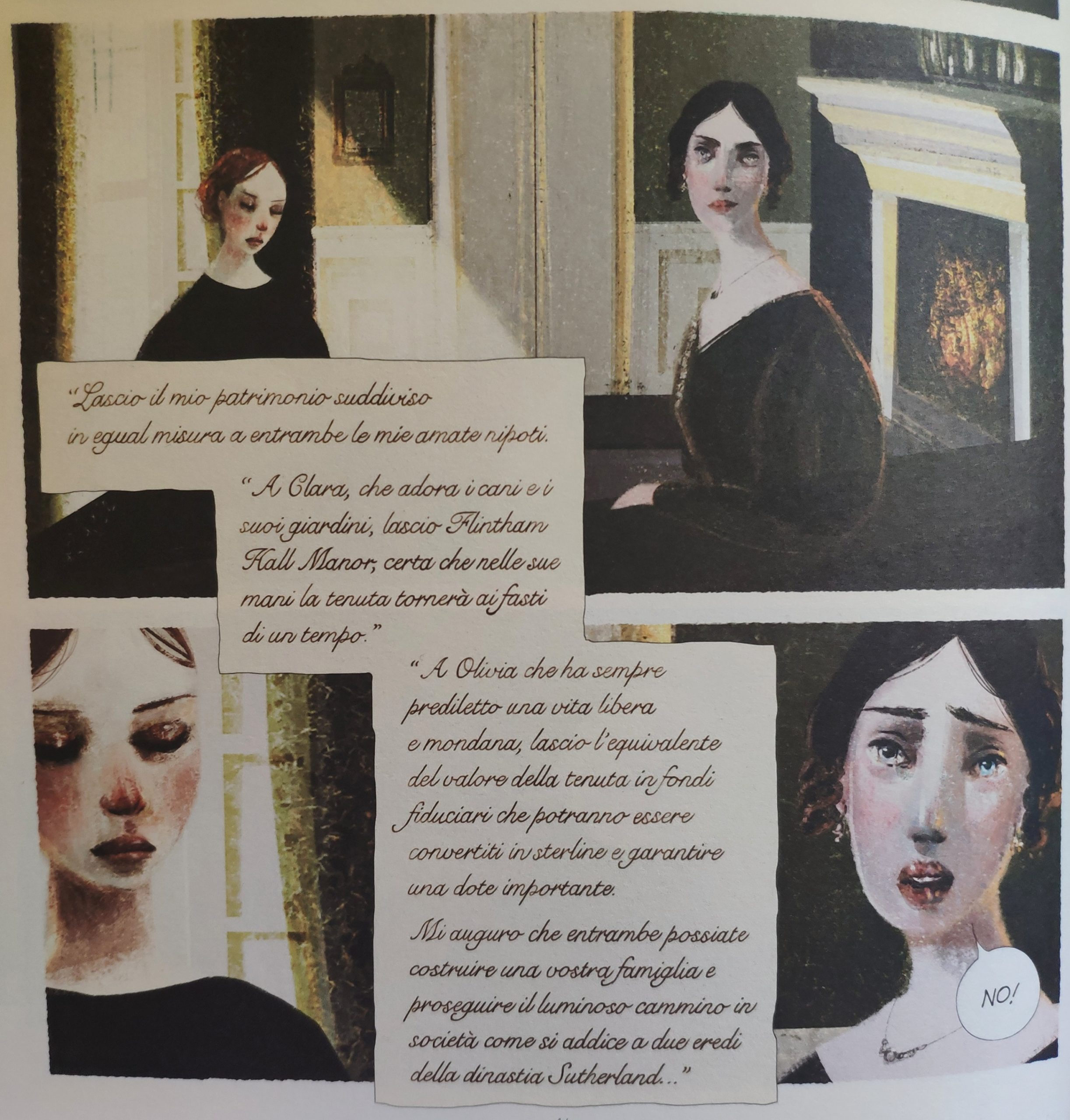 Mio caro fumetto… – Il testamento della Contessa Sutherland da cui partono le vicende di Lucenera