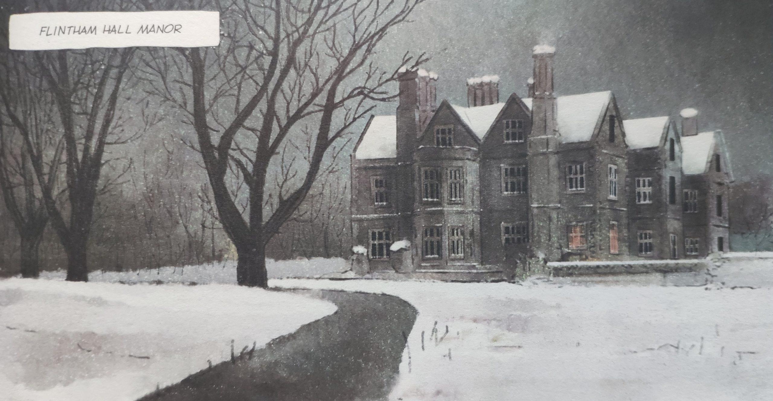 Mio caro fumetto… – Flintham Hall d'inverno