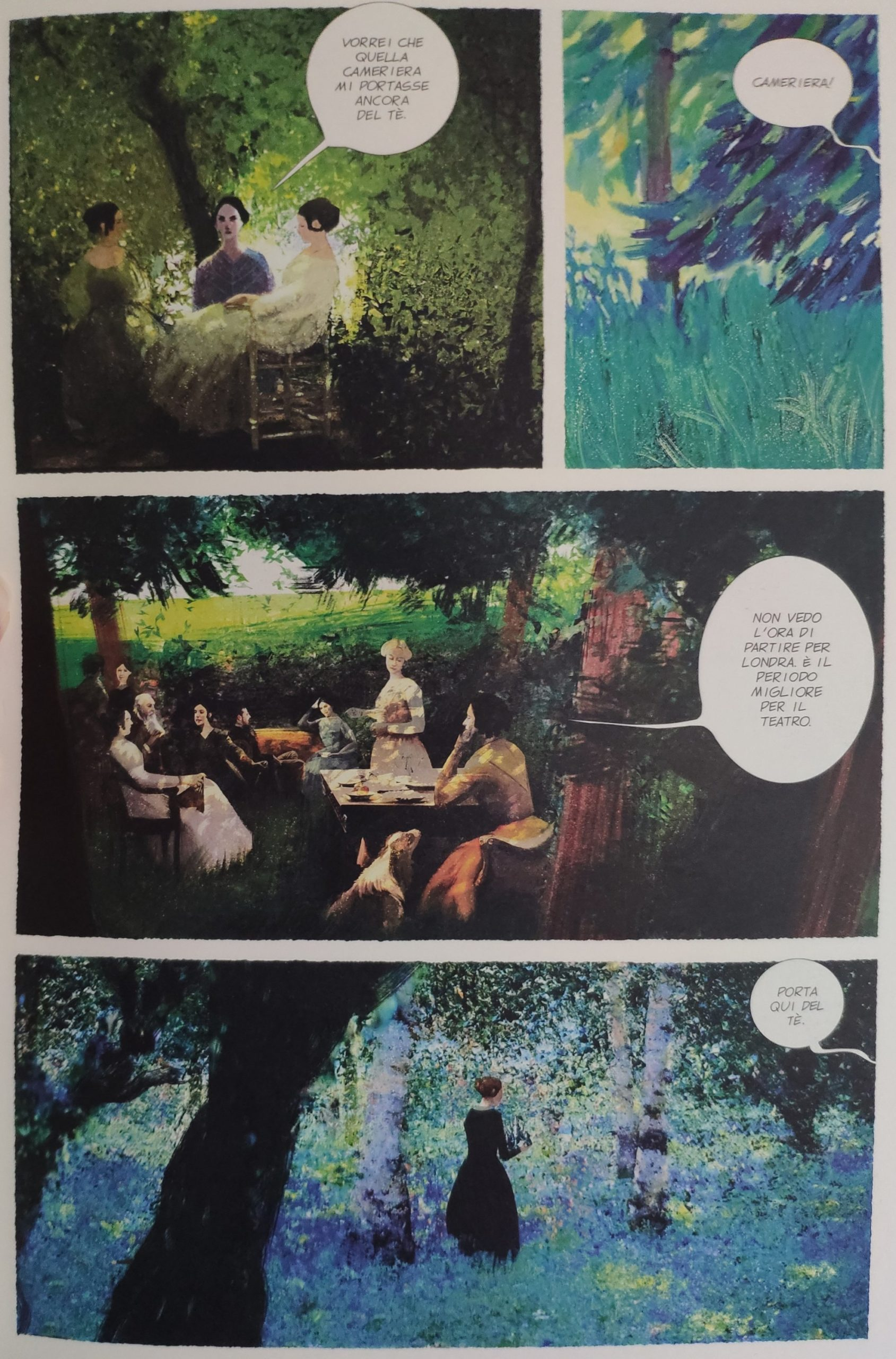 Mio caro fumetto… – Nei giardini di Blenheim Palace