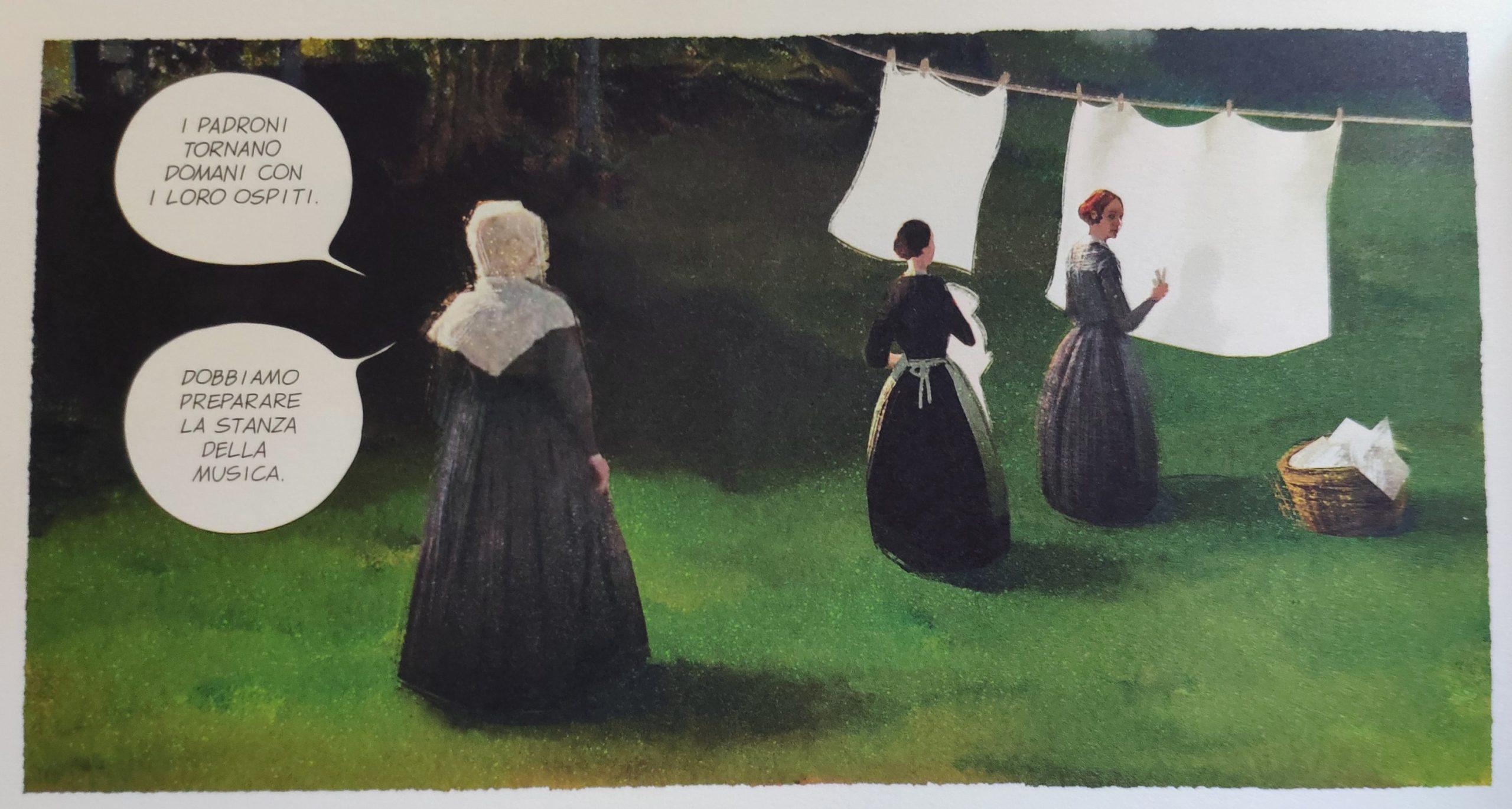 Mio caro fumetto… – Clara a servizio a Blenheim Palace per la Famiglia Darlington