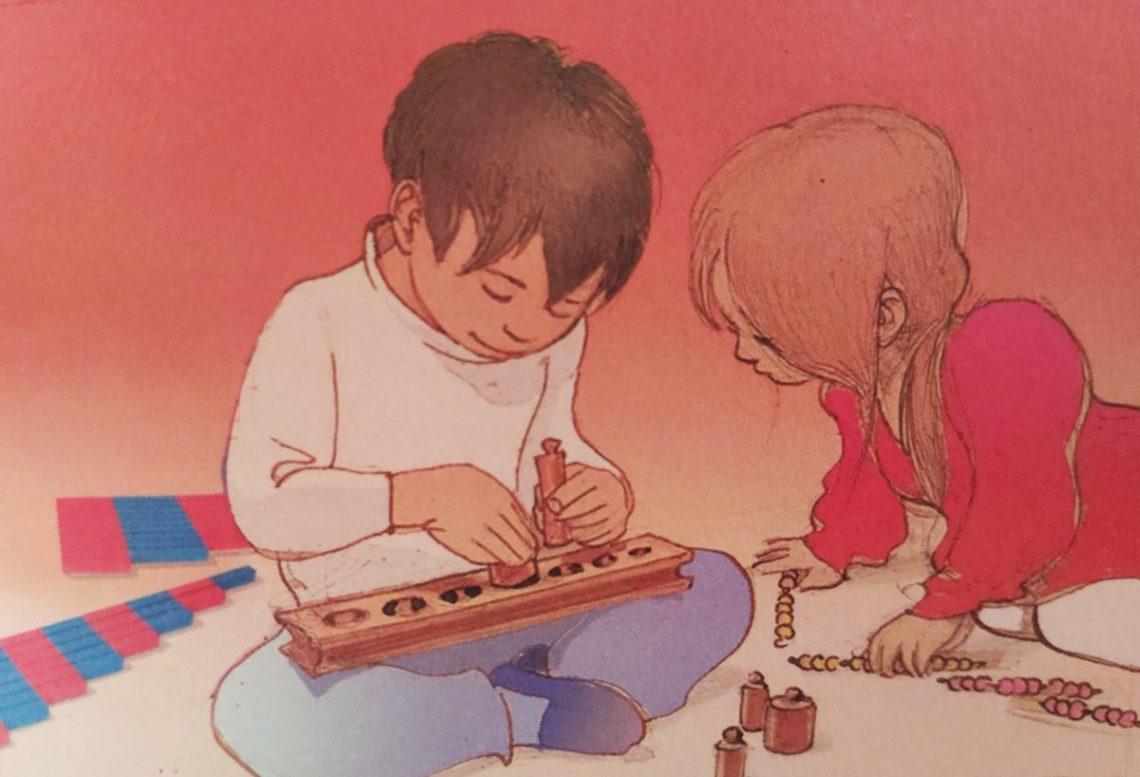 Mio caro fumetto... - Bambini e strumenti pedagogici montessoriani