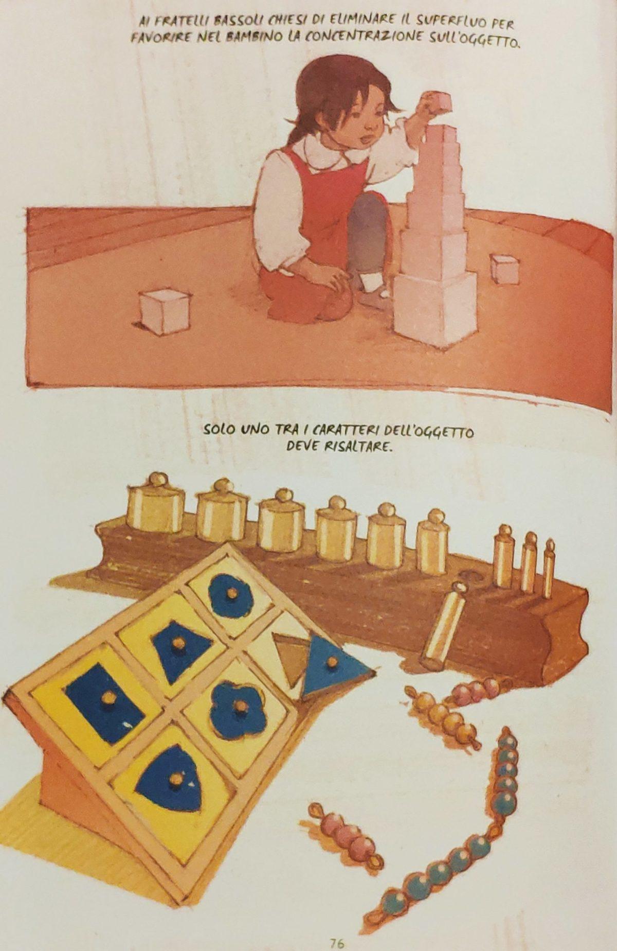 Mio caro fumetto… – Caratteristiche degli strumenti didattici montessoriani