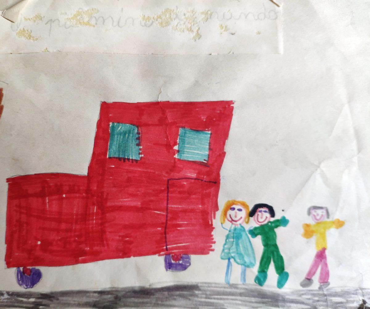 Mio caro fumetto… – Il pulmino di Nando che ci accompagnava alla Casa del bambino