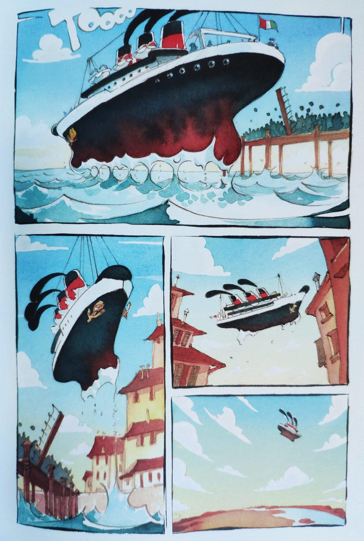 Mio caro fumetto… – Partenza di Maria Montessori dall'Italia mussoliniana