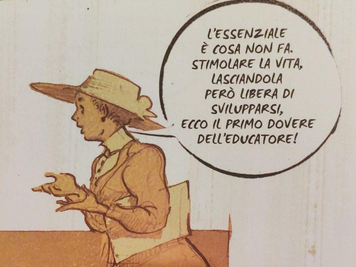 Mio caro fumetto… – Primo dovere dell'educatore secondo Maria Montessori