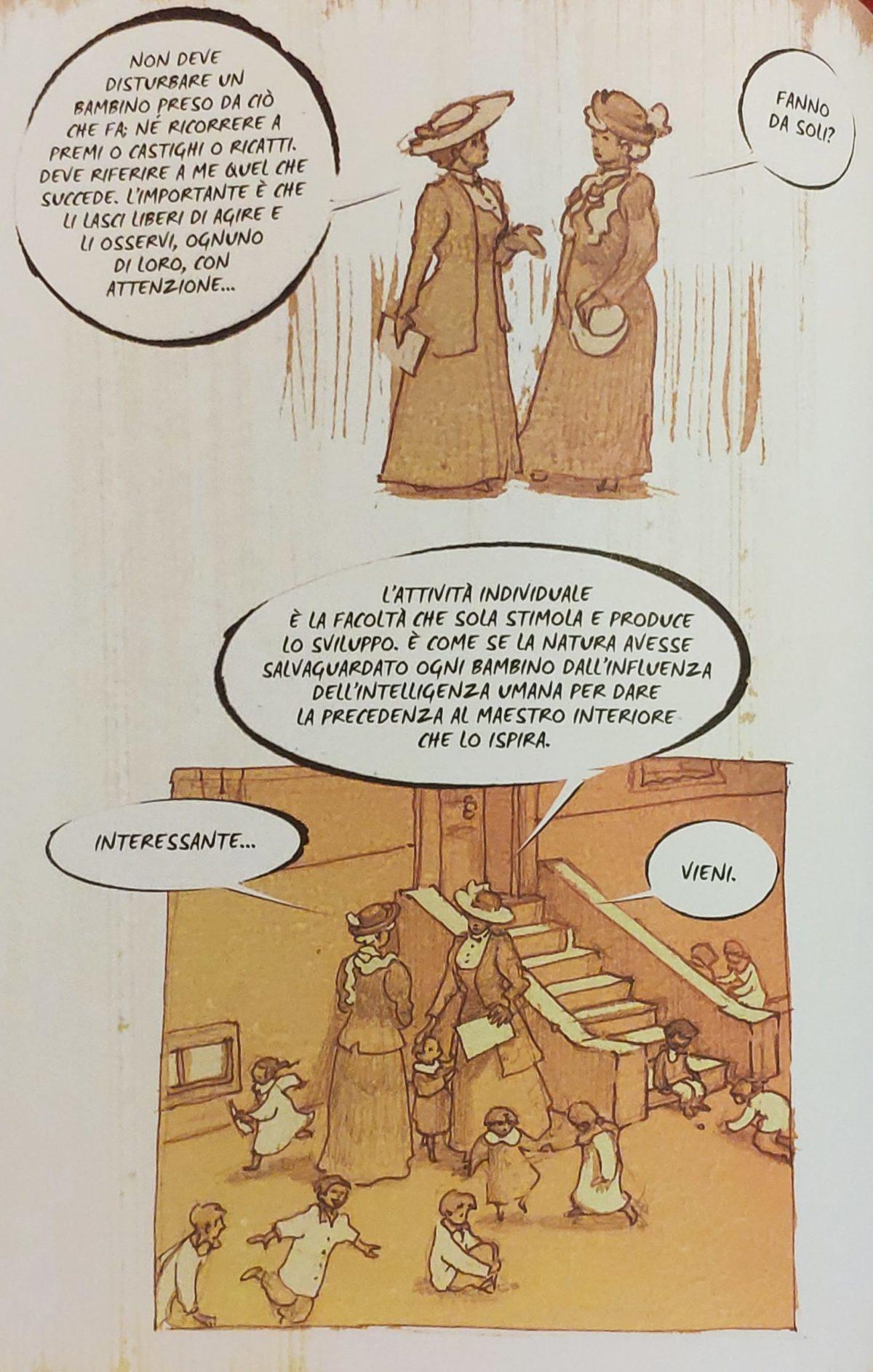 Mio caro fumetto… – Principi montessoriani