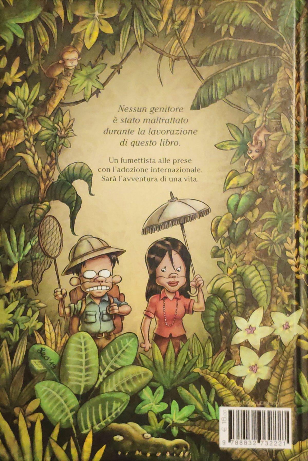 Mio caro fumetto... - Quarta di copertina di Due figlie e altri animali feroci