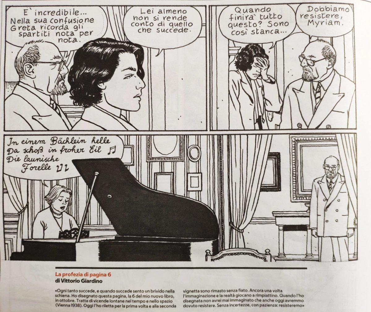 Mio caro fumetto... - Resistere secondo Vittorio Giardino