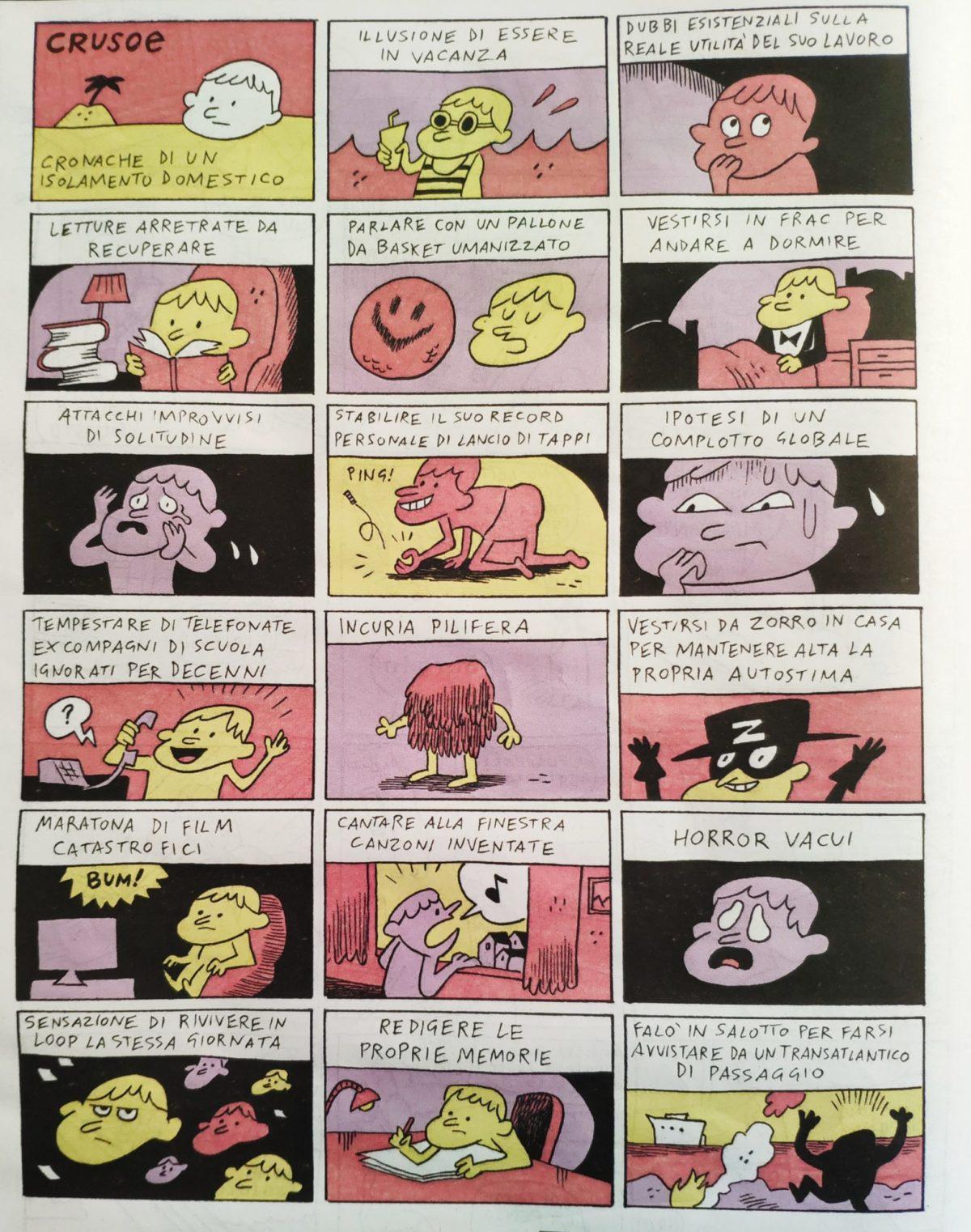 Mio caro fumetto.... - L'isolamento domestico causa coronavirus secondo Tuono Pettinato