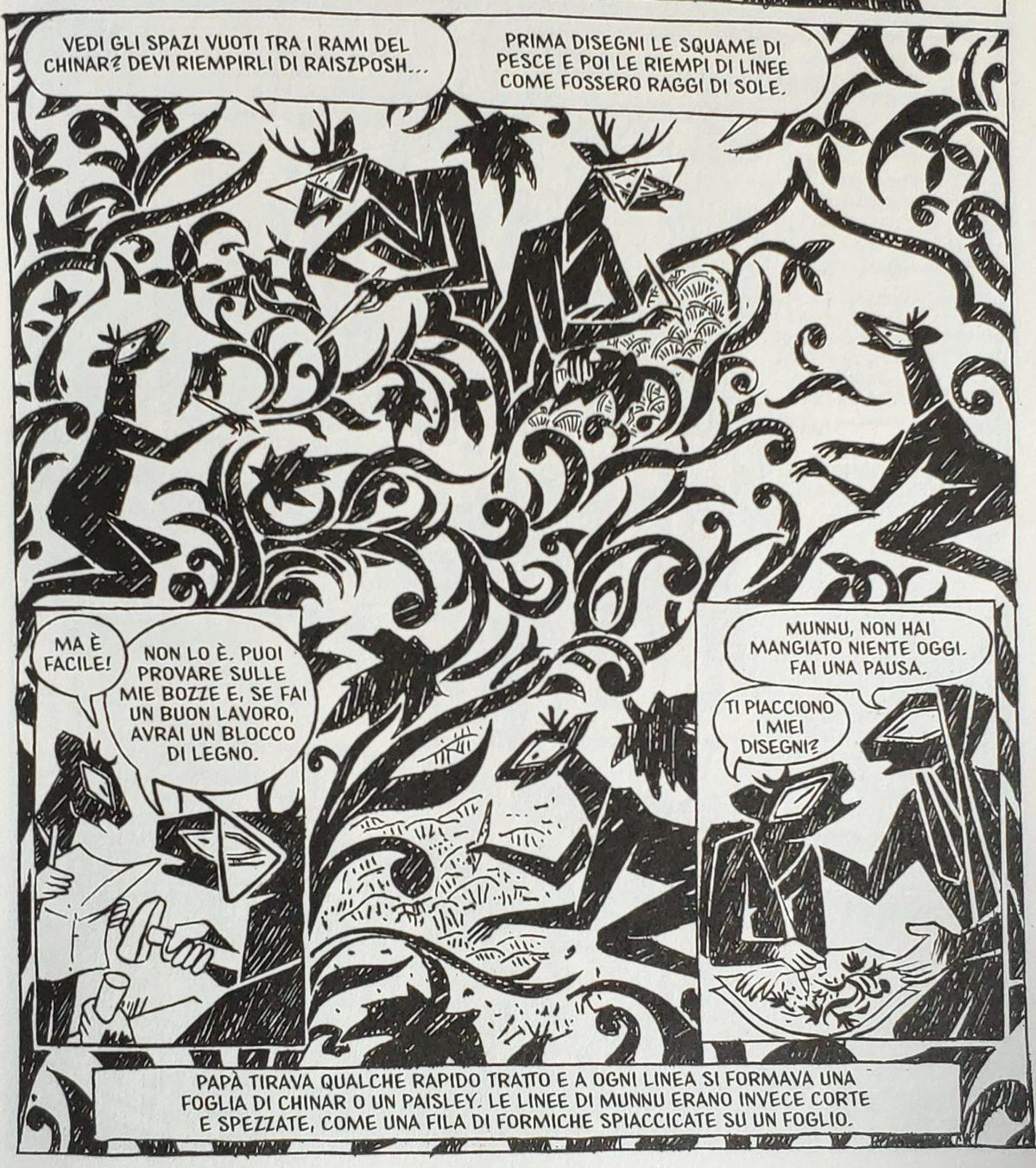 Mio caro fumetto… – Chinar e Paisley
