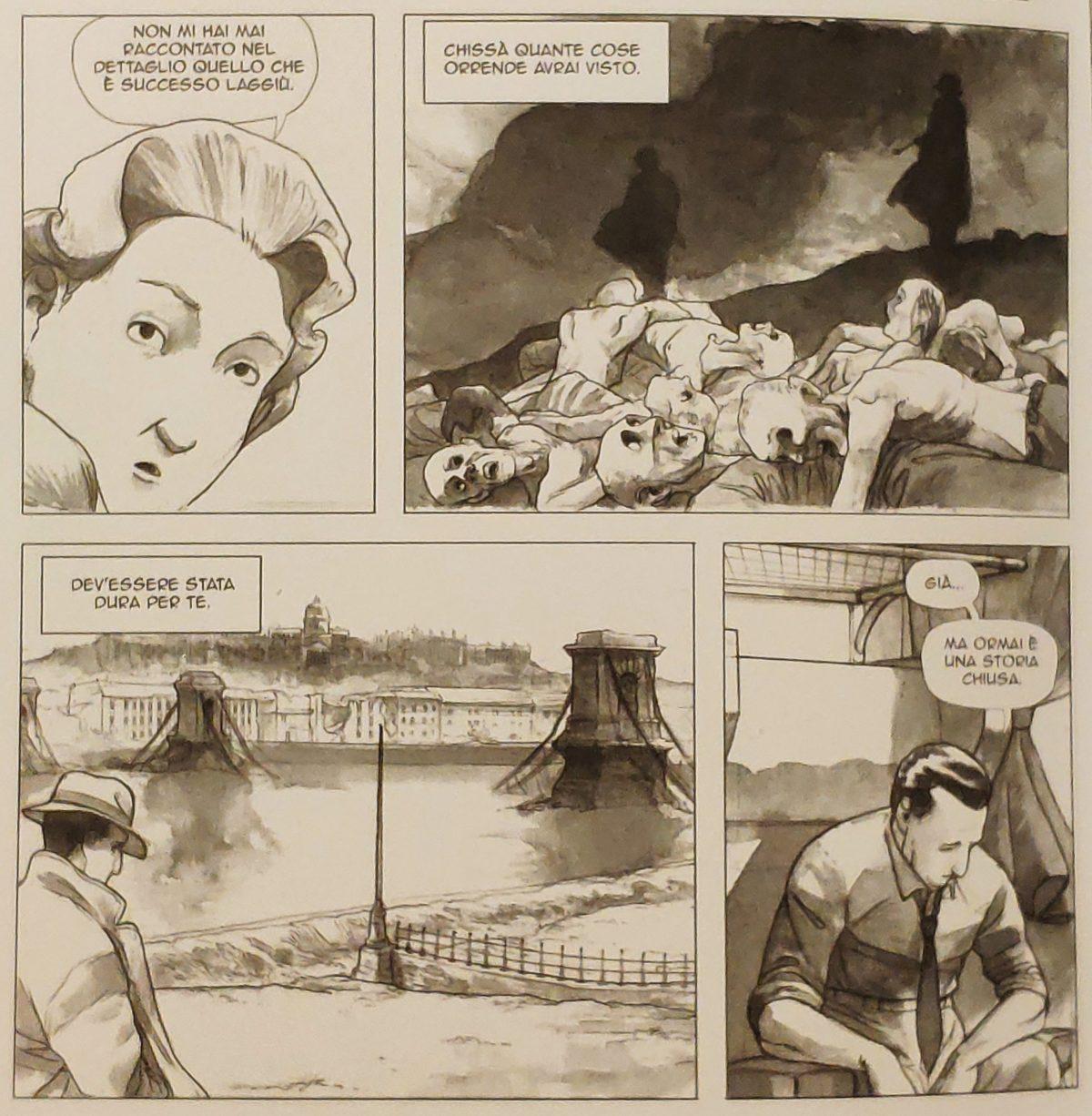 Mio caro fumetto… - Giorgio Perlasca non racconta nemmeno in famiglia la sua storia