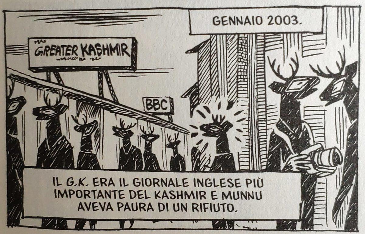 Mio caro fumetto... - Il lavoro al Greater Kashmir