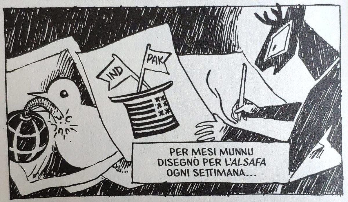 Mio caro fumetto... - Il lavoro per il Daily Alsafa