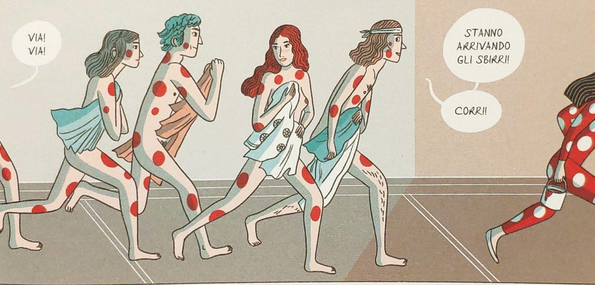 Mio caro fumetto... - Le body performance in strada a New York