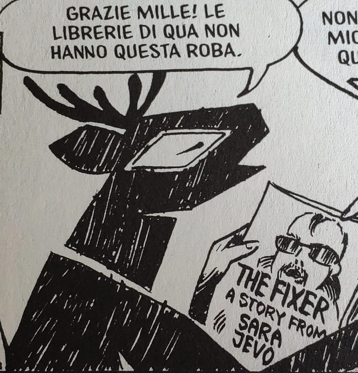 Mio caro fumetto... - Le potenzialità delle graphic novel e del graphic journalism desunte da Neven. Una storia da Sarajevo di Joe Sacco