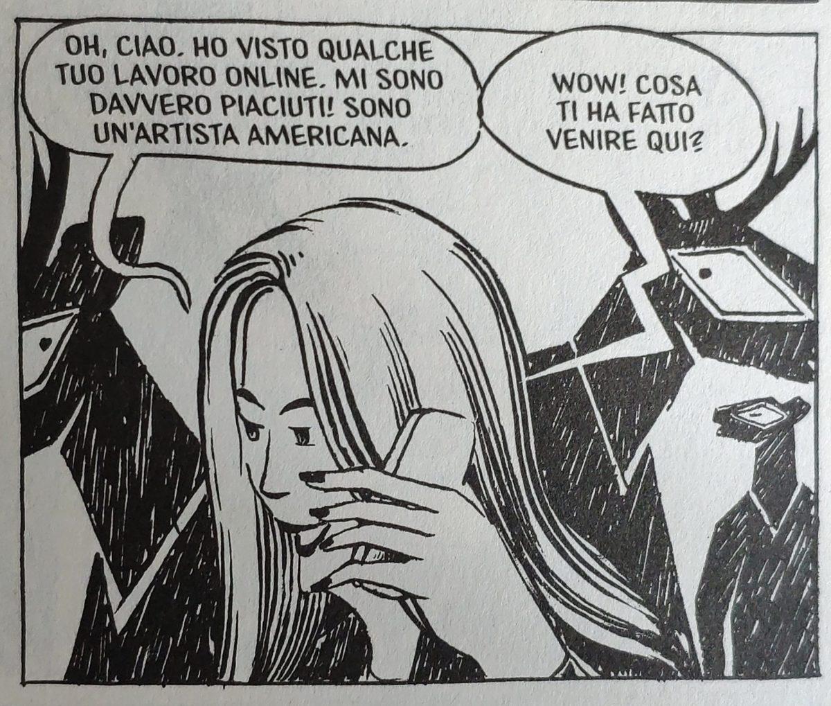 Mio caro fumetto... - Munnu conosce Paisley, l'artista di Brooklyn
