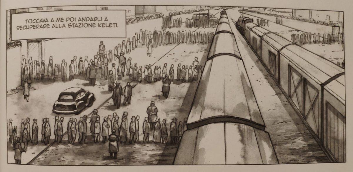 Mio caro fumetto… - Perlasca salva gli ebrei già nei convogli alla Stazione Keleti
