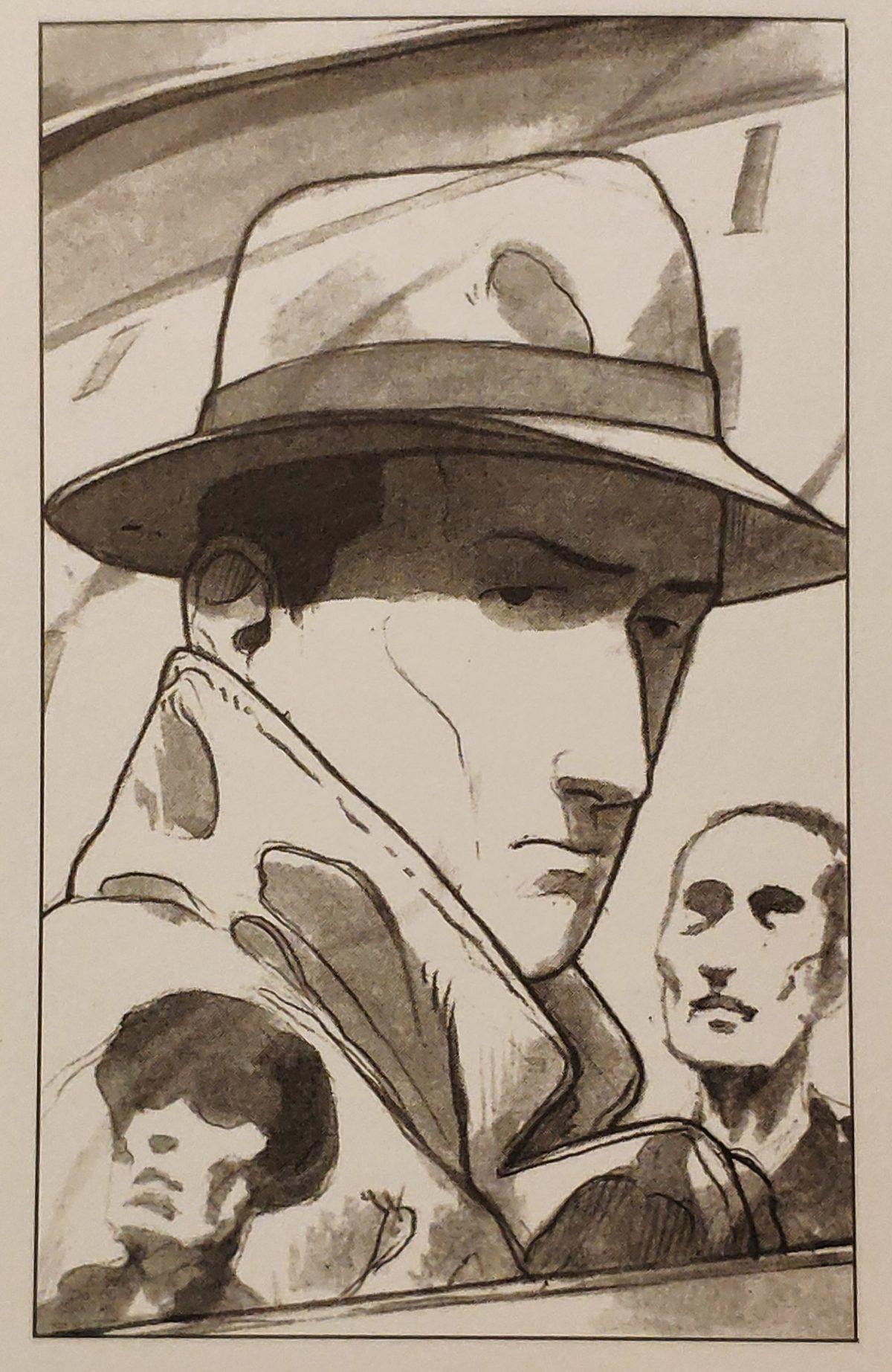 Mio caro fumetto... - Ritratto di Giorgio Perlasca