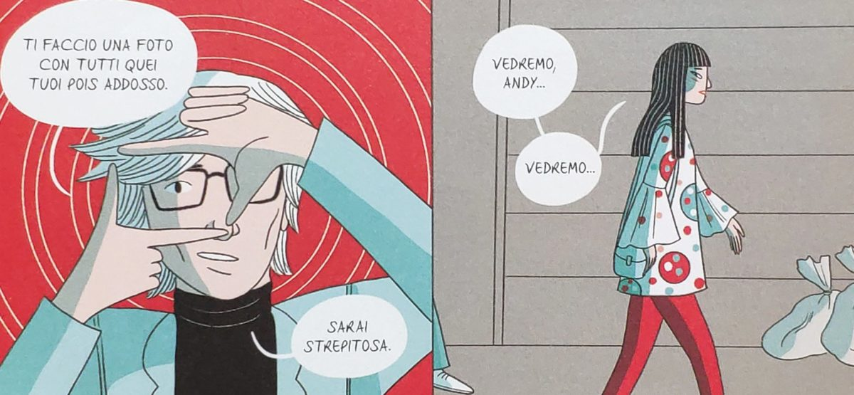 Mio caro fumetto... - Yayoi Kusama e Andy Warhol