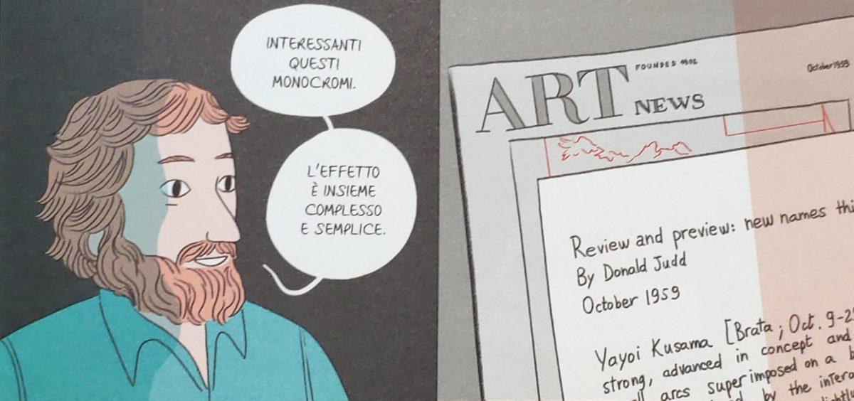 Mio caro fumetto... - Yayoi Kusama e Donald Judd