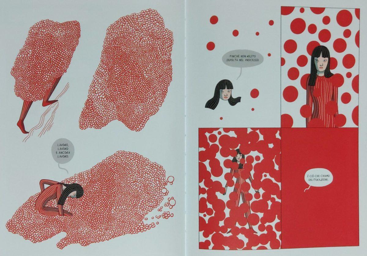 Mio caro fumetto… - Yayoi Kusama e il concetto di obliterazione