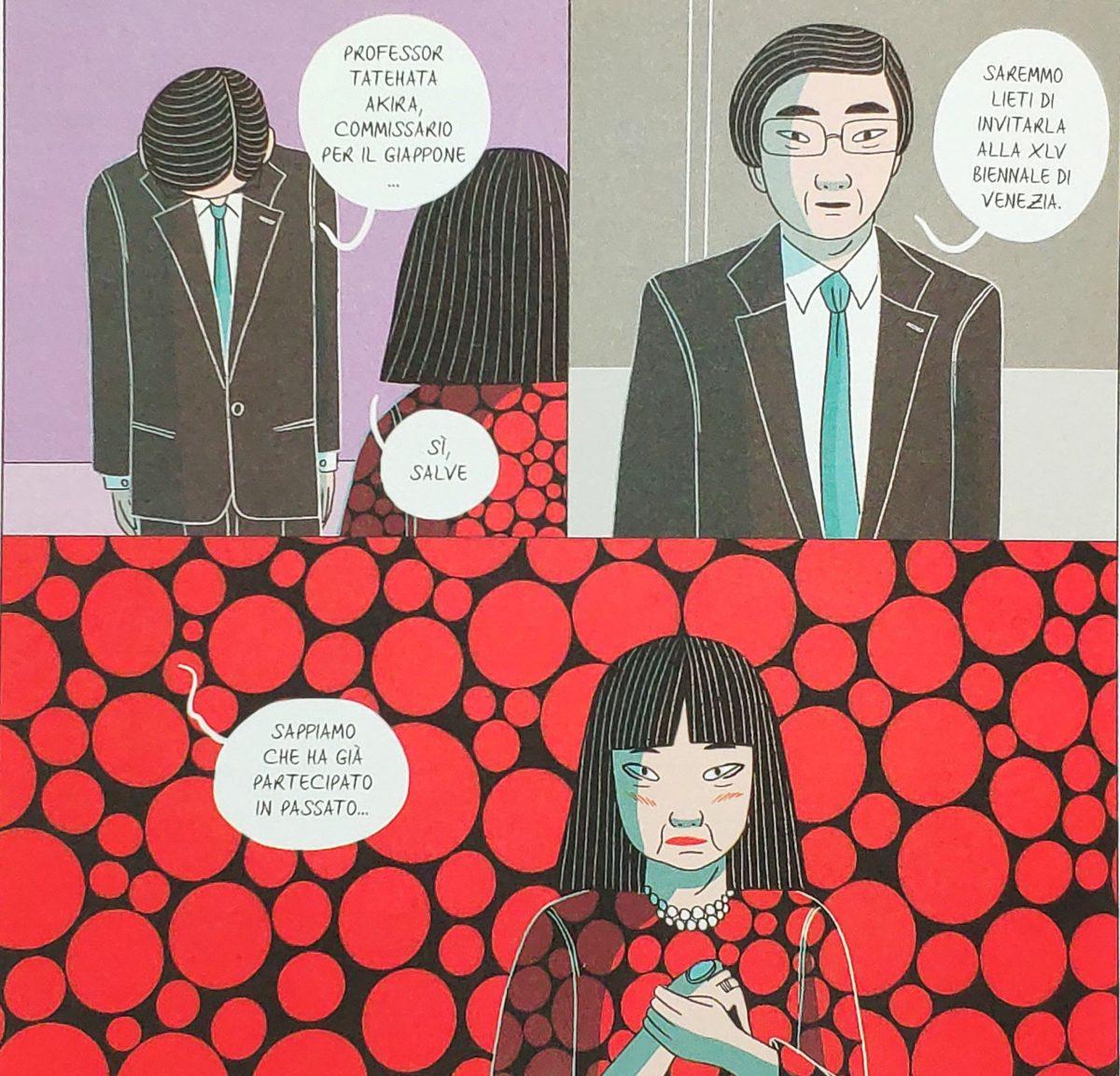 Mio caro fumetto… - Yayoi Kusama invitata alla XLV Biennale di Venezia