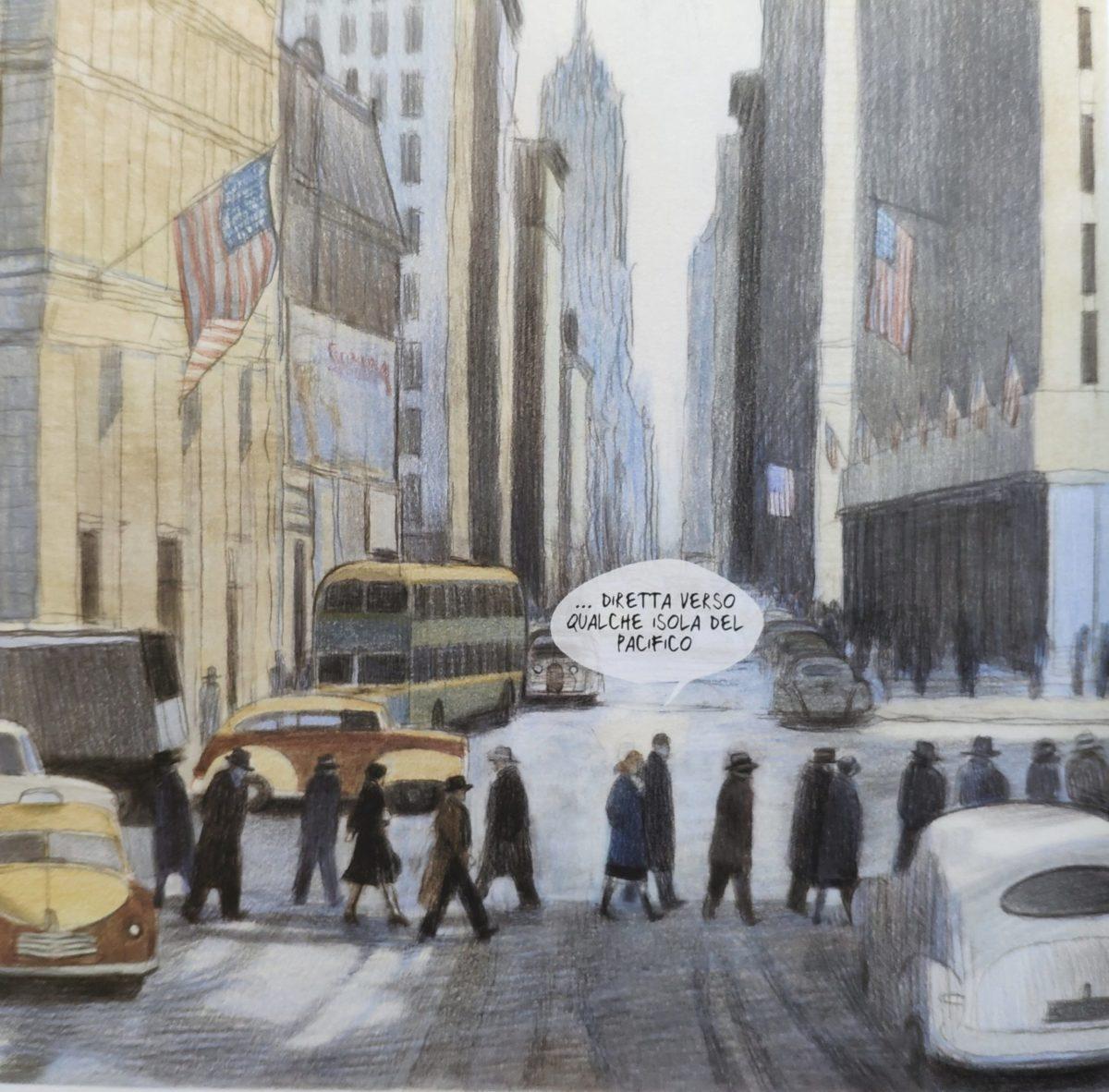 Mio caro fumetto... - Scorcio di New York, una delle ambientazioni di Rapsodia in blu