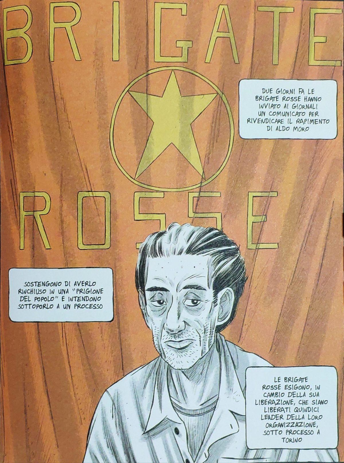 """Mio caro fumetto... - Aldo Moro nella """"Prigione del popolo"""": in Rosso è il perdono la versione disegnata della nota foto"""