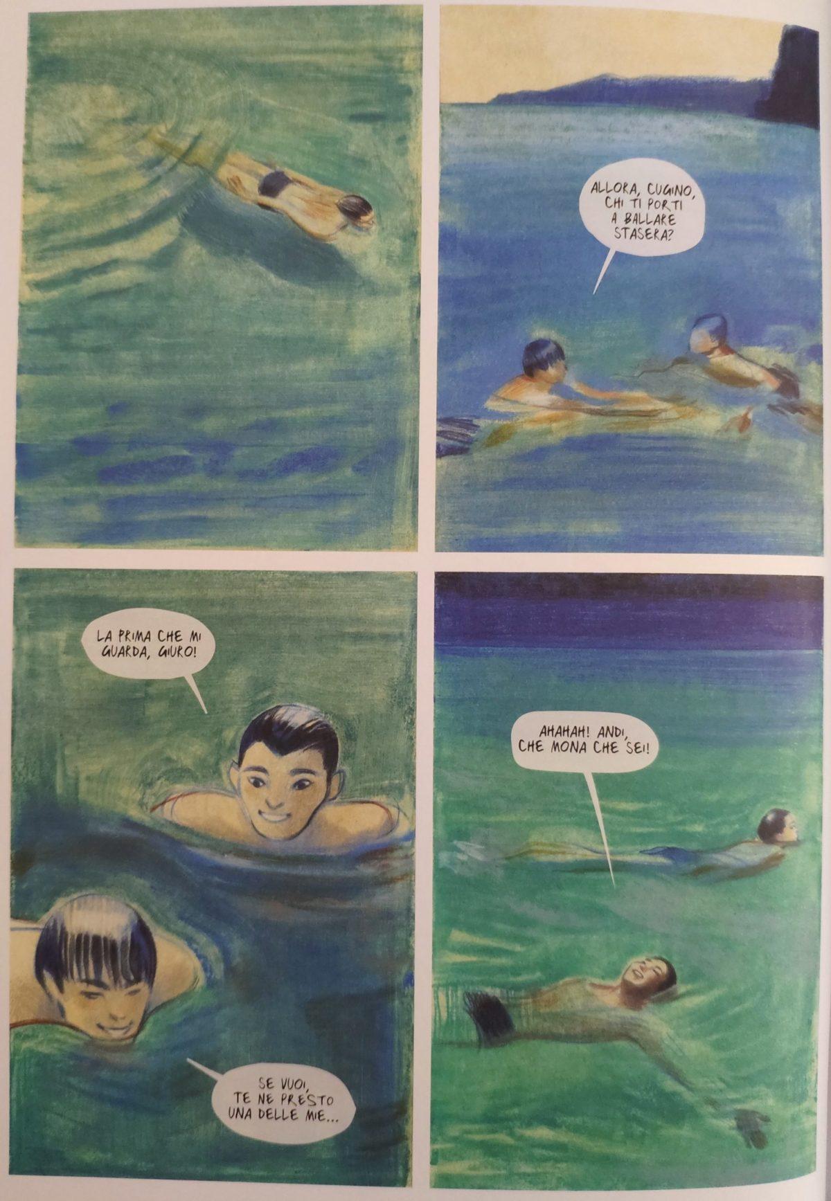 Mio caro fumetto... - I bagni estivi a Medea, attuale Medveja