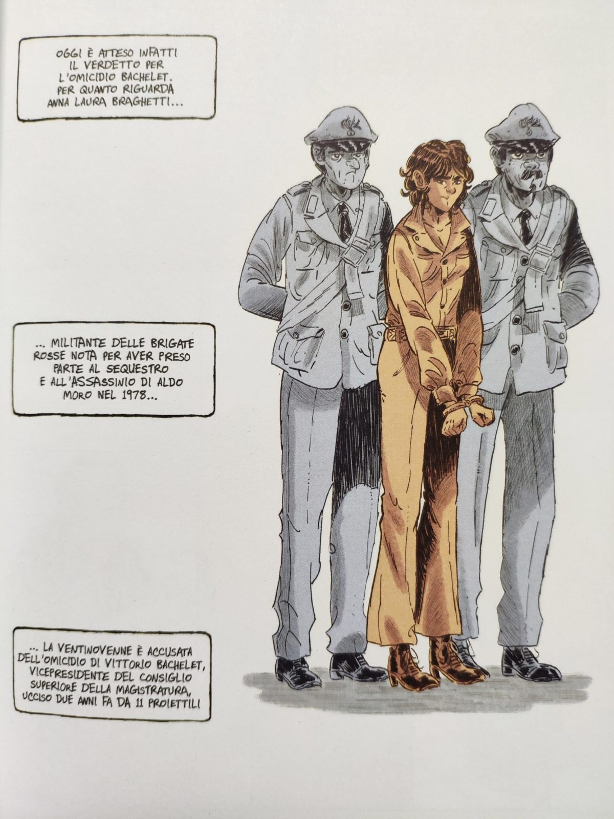 Mio caro fumetto... - Il giorno del verdetto del Moro-uno e Moro-bis