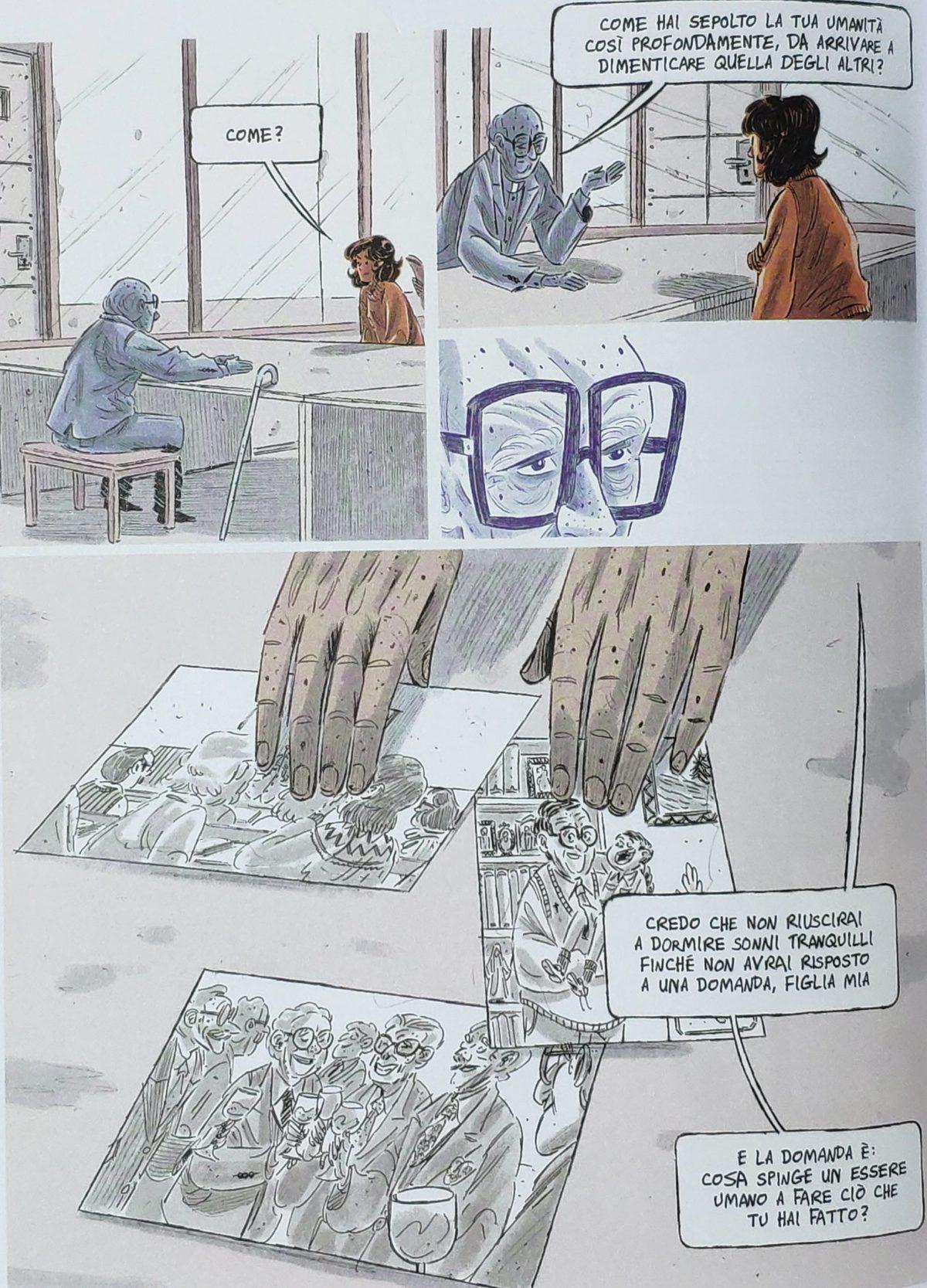 Mio caro fumetto... - Le domande cruciali di padre Adolfo Bachelet, inserite al centro del fumetto Rosso è il perdono
