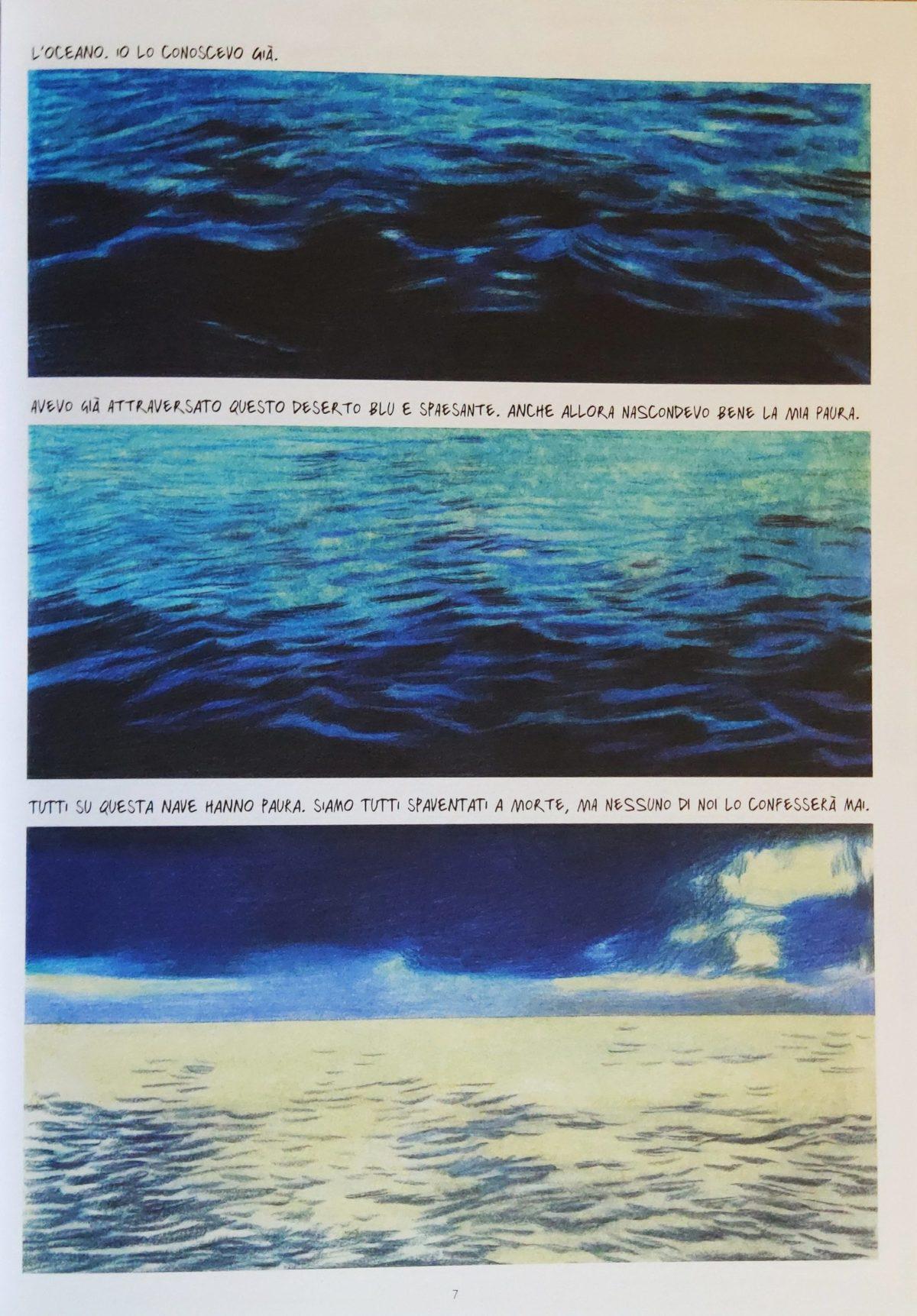 Mio caro fumetto... - L'oceano e le emozioni di Rapsodia in blu